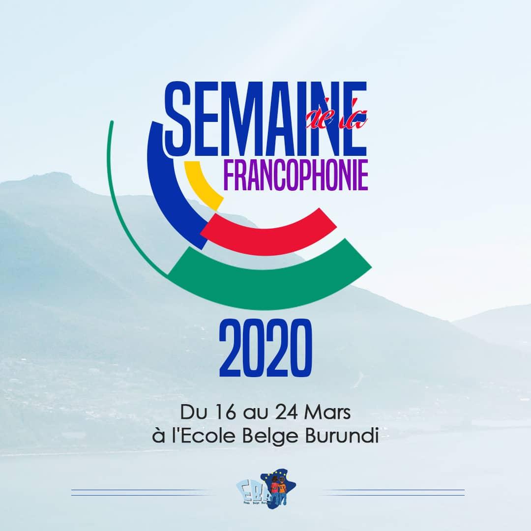 Semaine de la francophonie 2020 – concours d'éloquence et calligrammes